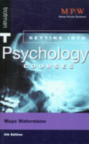 Getting Into Psychology