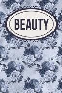 Makeup and Fashion Designer s Elegant Beauty Journal