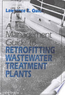 Management Guide To Retrofitting Wastewater Treatment Plants Book PDF