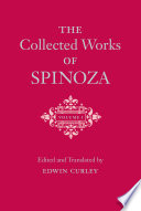 The Collected Works of Spinoza, Volume 1