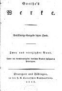 Goethe s Werke