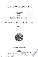 Report of the Special Commission on Revenue and Taxation, 1914