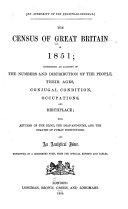 Census of Great Britain, 1851