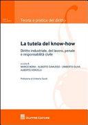 La tutela del know-how. Diritto industriale, del lavoro, penale e responsabilità civile