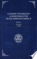Proceedings of the Fourth International Symposium on Cleaning Technology in Semiconductor Device Manufacturing Book