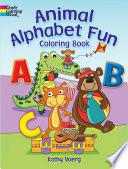 Animal Alphabet Fun Coloring Book Book PDF