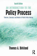 Cover of An Introduction to the Policy Process
