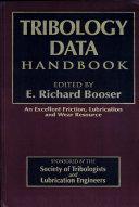 Tribology Data Handbook ebook