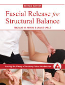 Cover of Fascial Release for Structural Balance, Revised Edition