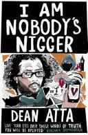 I Am Nobody's Nigger Pdf/ePub eBook