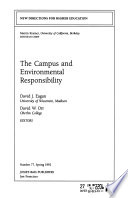 The Campus and Environmental Responsibility