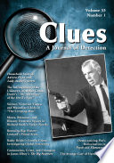 Clues  A Journal of Detection  Vol  33  No  1  Spring 2015