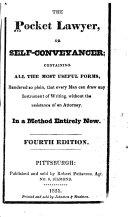 The Pocket Lawyer, Or Self-conveyancer