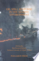 Oil Spill Response in the Marine Environment