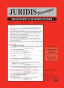 Juridis Périodique - Numéro : 48