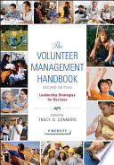"""""""The Volunteer Management Handbook: Leadership Strategies for Success"""" by Tracy D. Connors"""