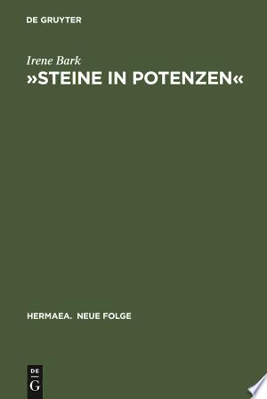 Download »Steine in Potenzen« Free Books - E-BOOK ONLINE