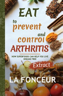 Eat to Prevent and Control Arthritis  Full Color Print