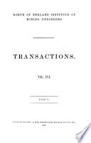 Transactions   North of England Institute of Mining and Mechanical Engineers