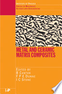 Metal and Ceramic Matrix Composites