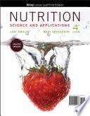 Nutrition  Loose Leaf Print Companion Book