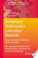 Elementary Mathematics Curriculum Materials