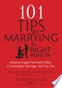 101 Tips for Marrying the Right Person Book