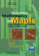 Discovering Mathematics with Maple