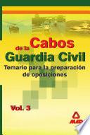 Cabos de la Guardia Civil. Temario. Volumen Iii Ebook