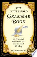 The Little Gold Grammar Book
