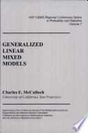 Generalized Linear Mixed Models Book PDF