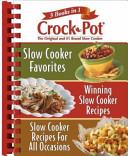 Rival Crock Pot  3 Books In 1