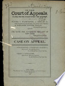In the Court of Appeals