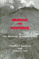 Pdf Warning and Response to the Mount St. Helens Eruption