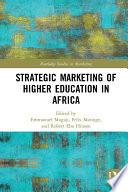 Strategic Marketing of Higher Education in Africa