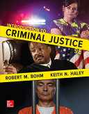 Loose Leaf For Introduction To Criminal Justice