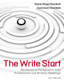 The Write Start  Sentences to Paragraphs with Professional and Student Readings