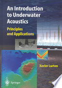 An Introduction to Underwater Acoustics Book