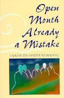 Open Mouth - Already a Mistake Pdf/ePub eBook