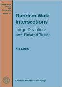Pdf Random Walk Intersections