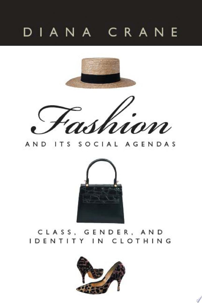 Fashion and Its Social Agendas banner backdrop