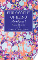 Philosophy of Being Book PDF