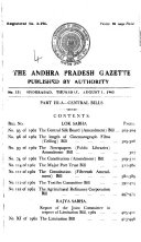 The Andhra Pradesh Gazette