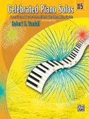 Celebrated Piano Solos Book 5