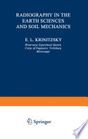 Radiography In The Earth Sciences And Soil Mechanics Book PDF