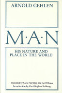 Man, His Nature and Place in the World