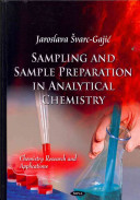 Sampling and Sample Preparation in Analytical Chemistry