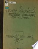 Preliminary Data Paper, 1-3; Dec. 1960-June 1961