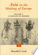 Asia in the Making of Europe, Volume II