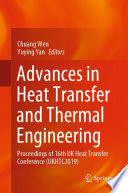 Advances in Heat Transfer and Thermal Engineering Book